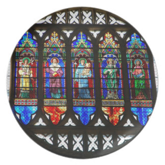 St Anthony's rose window Plate