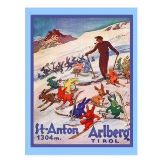 St ANton, Arlberg; Tirol Post Cards
