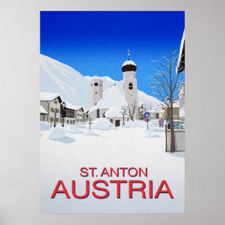 St Anton Austria Poster