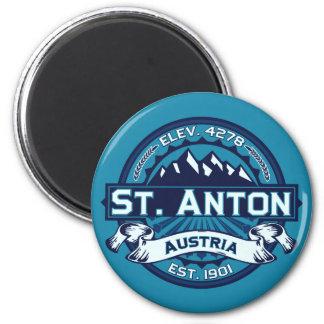 St. Anton Logo Magnet