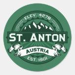St. Anton Logo Stickers