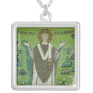 St. Apollinare Silver Plated Necklace