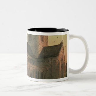 St. Asaph's Cathedral, View from the South-West Two-Tone Coffee Mug