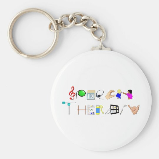 ST at Work Basic Round Button Key Ring
