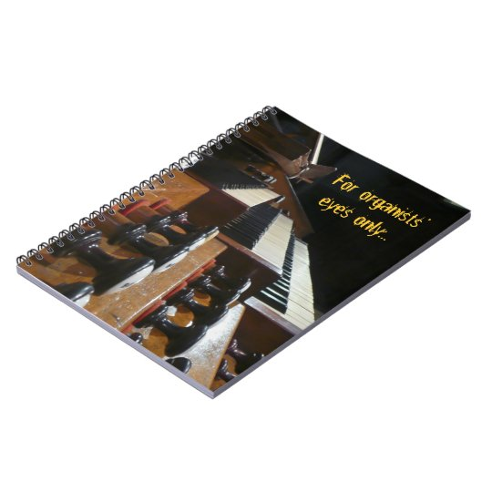 St Augustin organ notebook