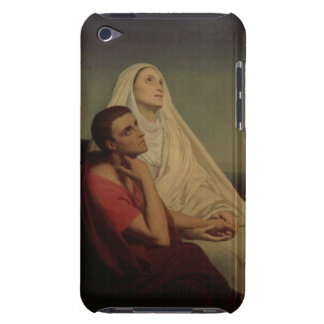 St. Augustine and his mother St. Monica, 1855 Barely There iPod Case