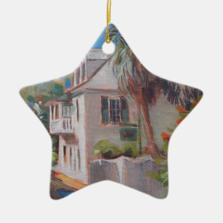 St. Augustine Aviles Street Florida Ceramic Star Decoration