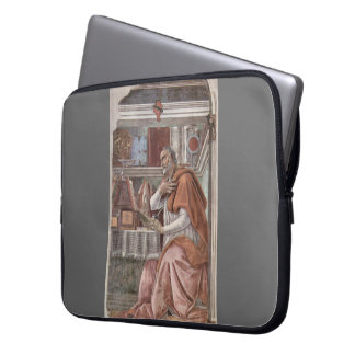 St. Augustine  by Piero della Francesca Laptop Computer Sleeves