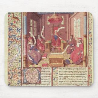 St. Augustine, Epicurus, Zeno, Antiochus & Mouse Pad