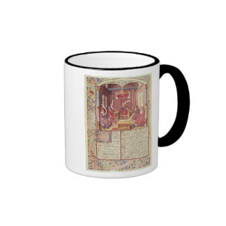 St. Augustine, Epicurus, Zeno, Antiochus & Ringer Mug