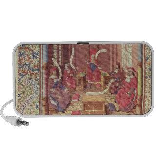 St. Augustine, Epicurus, Zeno, Antiochus & Notebook Speaker