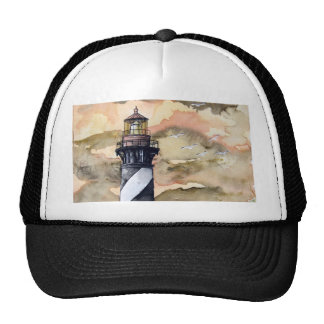 St Augustine Florida lighthouse painting Cap