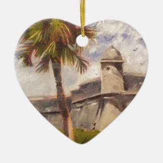 St. Augustine Fort - Castillo de san Marcos Christmas Ornament