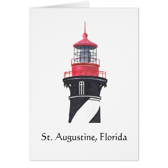 St. Augustine Lighthouse Card