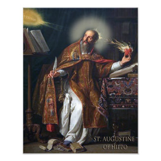 ST AUGUSTINE OF HIPPO ART PHOTO