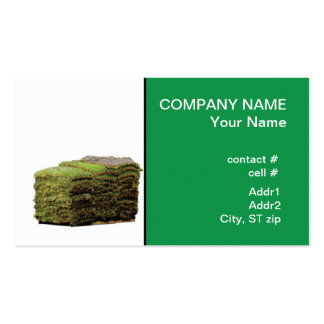 St. Augustine sod Business Card Template