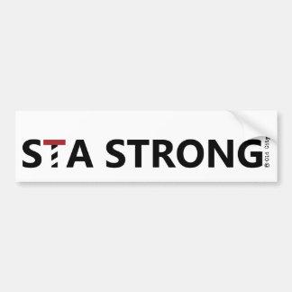 St. Augustine - STA STRONG Bumper Sticker