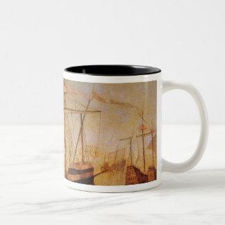 St. Auta Altapice Two-Tone Coffee Mug
