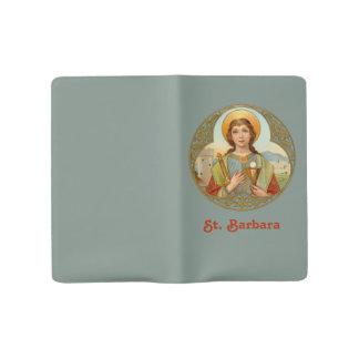St. Barbara (BK 001) Large Moleskine Notebook