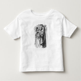 St. Barbara, etched by Wenceslaus Hollar, 1647 Tshirt