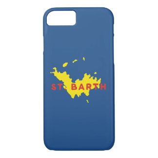 St. Barth Silhouette iPhone 8/7 Case