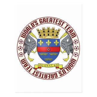 St Barthelemy Greatest Team Postcard