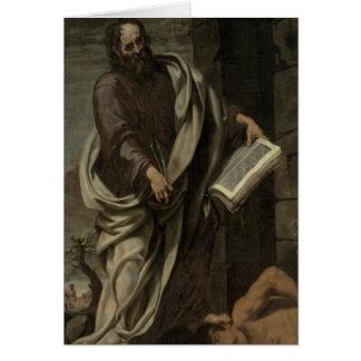 St. Bartholomew, 1620 Greeting Card