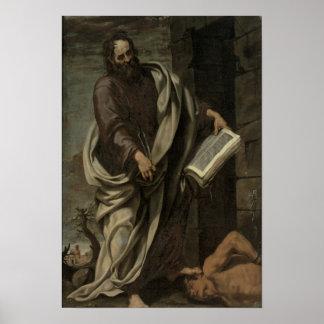 St. Bartholomew, 1620 Poster