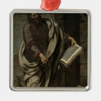 St. Bartholomew, 1620 Silver-Colored Square Decoration