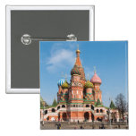 St. Basil cathedral in Moscow Pins