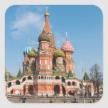 St. Basil cathedral in Moscow Sticker
