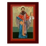 St. Basil the Great Prayer Card Postcard