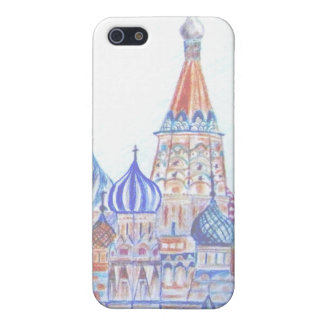 St. Basil's Cathedral Case Case For The iPhone 5
