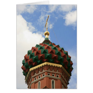 St Basil's Cathedral Greeting Card