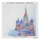 St. Basil's Cathedral Poster Print