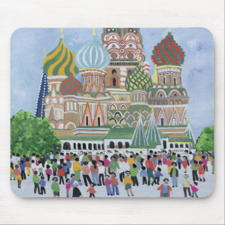 St. Basil's Cathedral Red Square 1995 Mouse Pad
