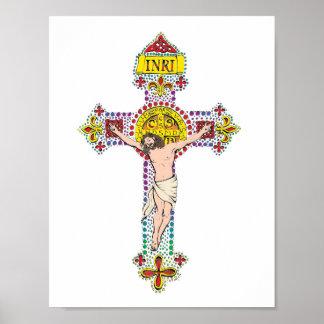 St.Benedict Crucifix Poster