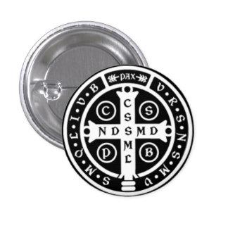 St Benedict Medal Cross Buttons