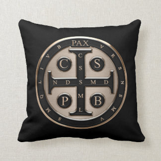 St. Benedict Medal Cushion