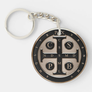 St. Benedict Medal Key Ring