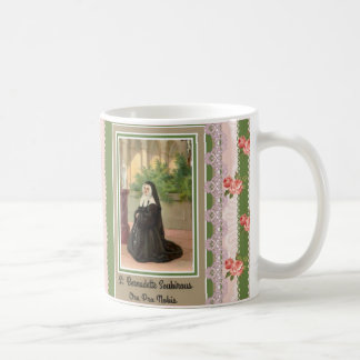 St. Bernadette Lourdes God Bless You Coffee Mug