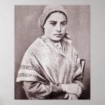St. Bernadette Soubirous Poster