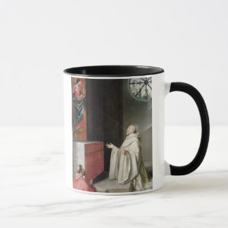 St. Bernard and the Virgin Mug