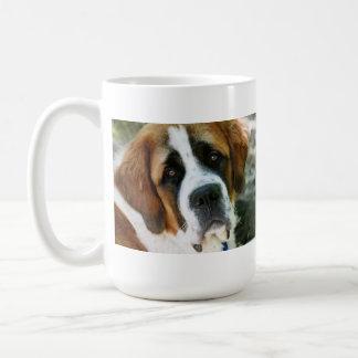 St. Bernard Basic White Mug