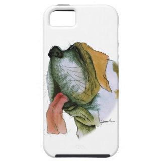 st bernard dog, tony fernandes iPhone 5 case
