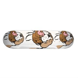 St. Bernard Keg Dog Skate Deck