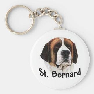 St Bernard Key Ring