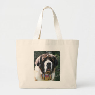 St-bernard Large Tote Bag