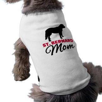 St. Bernard Mom Dog Shirt