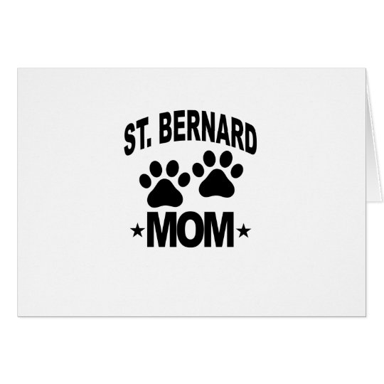 ST BERNARD MOM.png Card